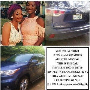 See the car missing Abuja ladies were last seen in